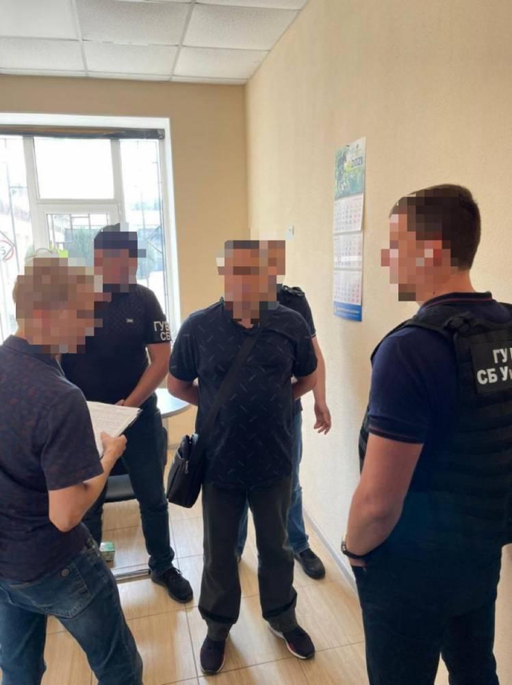 В Херсоне по подозрению в госизмене задержали офицера СБУ