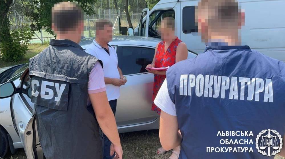 Чиновника ГП «Львовуголь» задержали на взятке