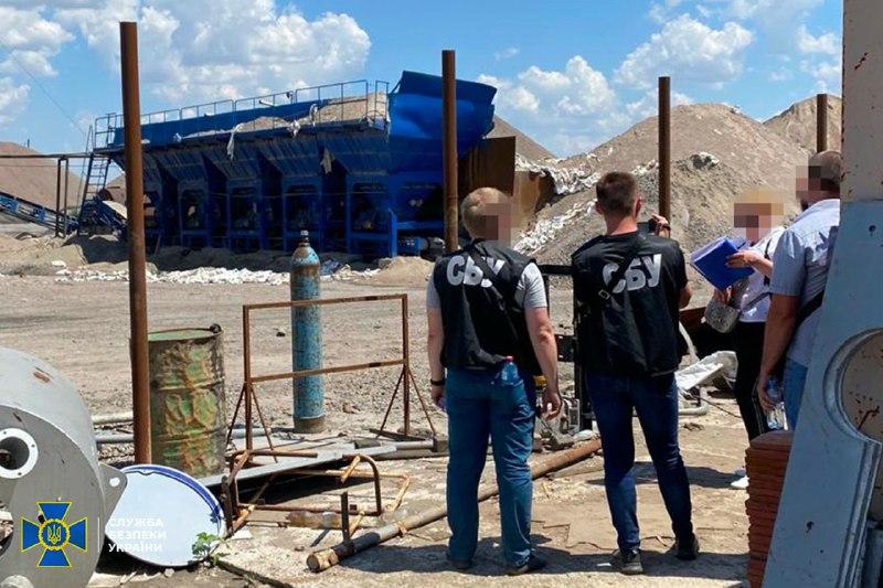 В Николаевской области компании из санкционного списка СНБО незаконно добывали гранит
