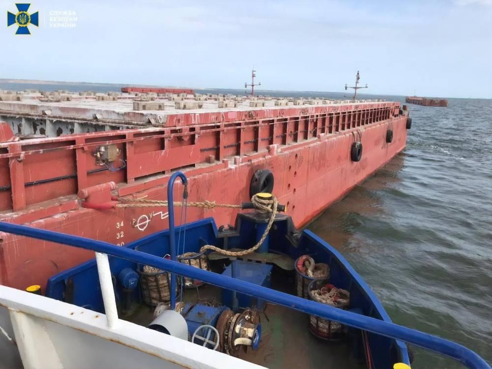 АРМА через суд заставили отменить конкурс по управлению баржами, украденными у Дунайского пароходства