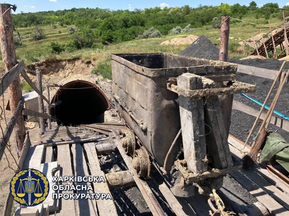 В Харьковской области нашли подпольную угольную шахту