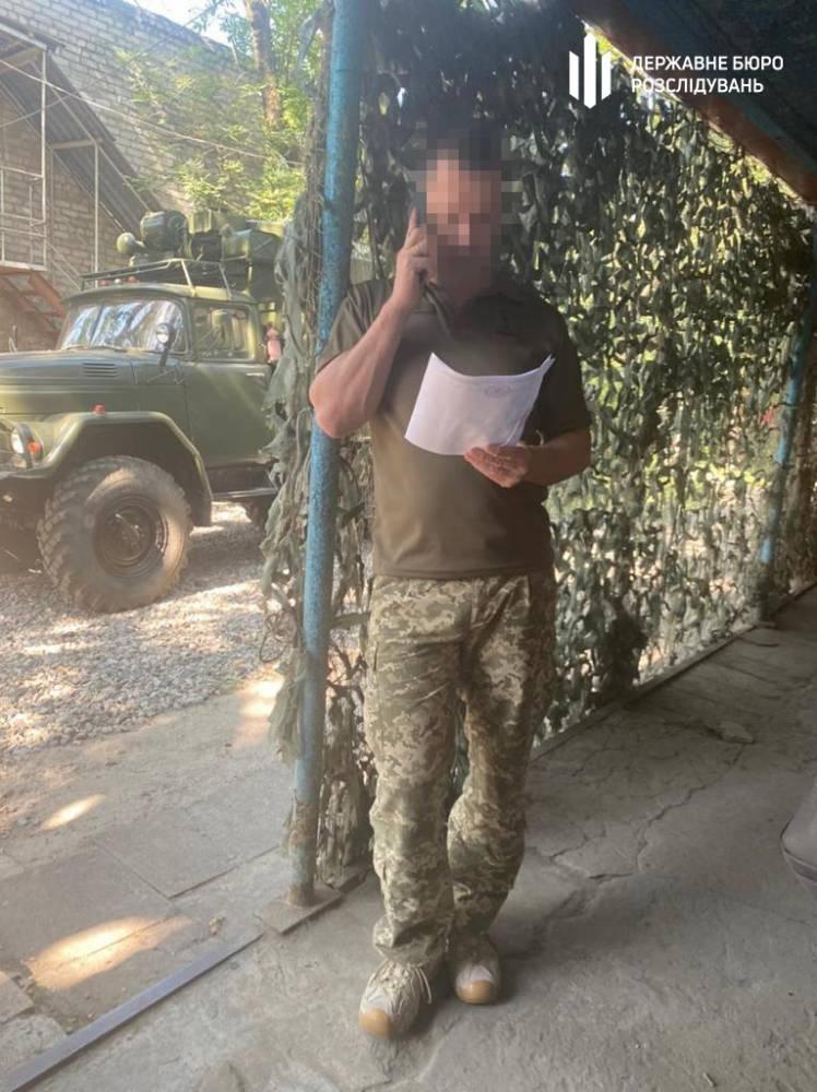 В Днепре офицер торговал статусом ветерана ООС