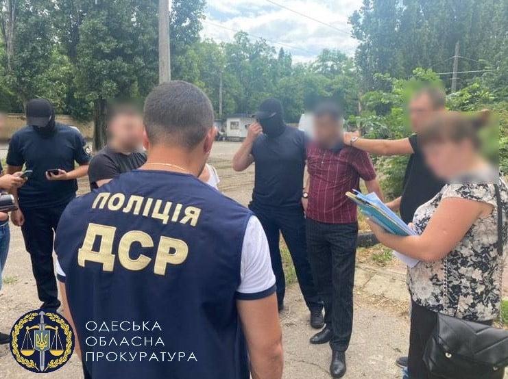 В Одессе на взятке поймали директора коммунального предприятия