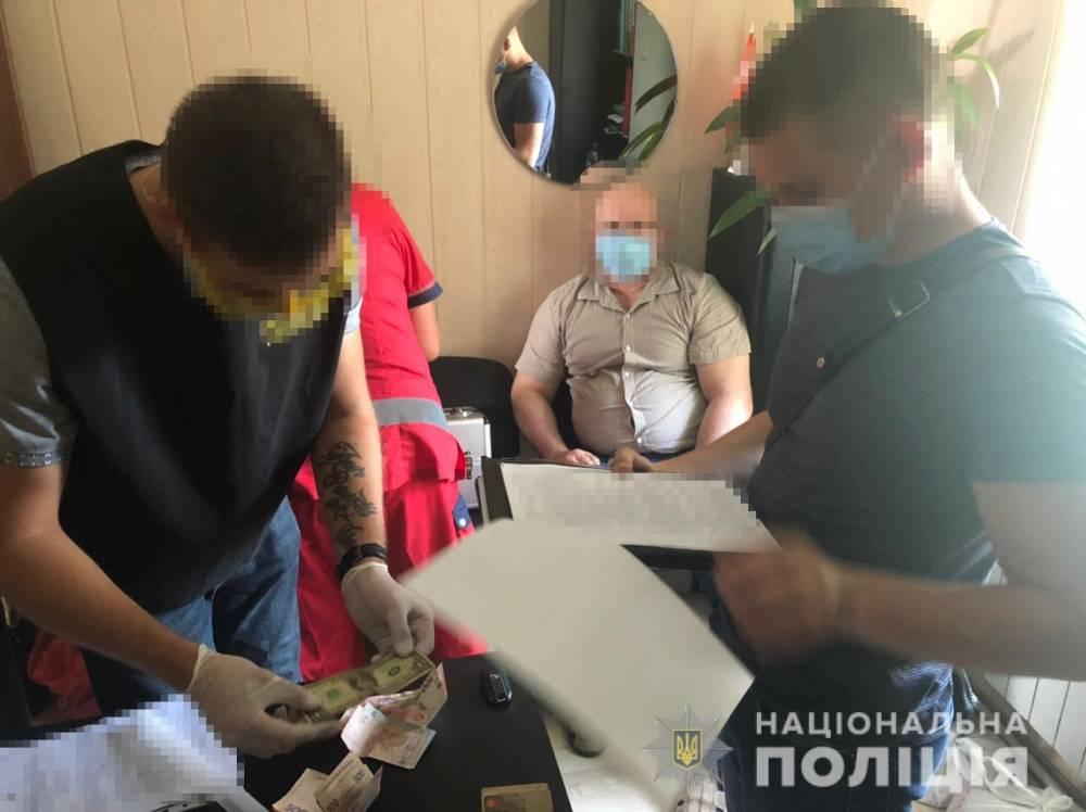 Руководство Госпродпотребслужбы в Запорожье попалось на взятке