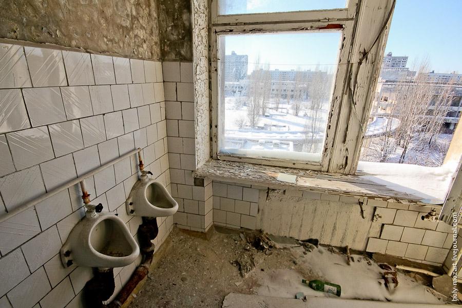 На строительство туалетов в Чернобыльской зоне потратят 3 млн гривен