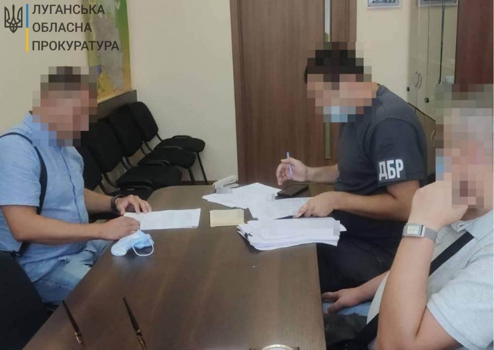 Экс-сотруднику луганской полиции вручили подозрение в халатности