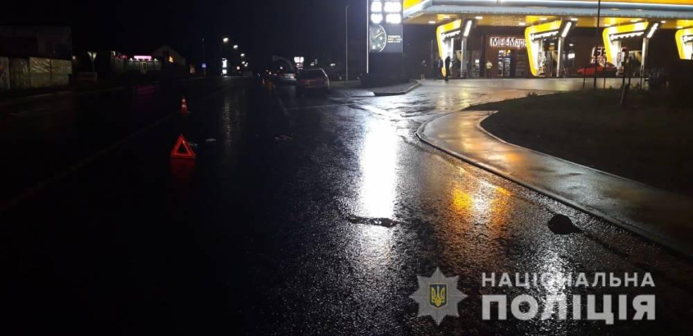 В Киевской области полицейский сбил пешехода