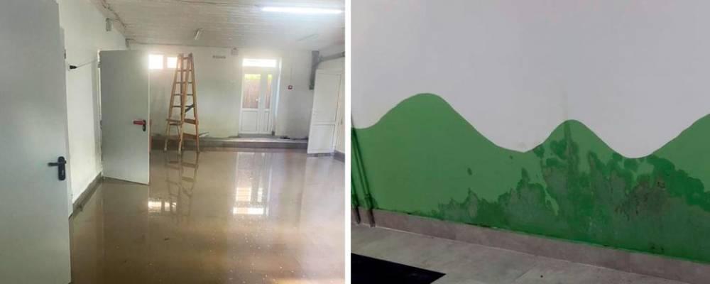 В Черновицкой области из-за плохого ремонта школа находится в аварийном состоянии