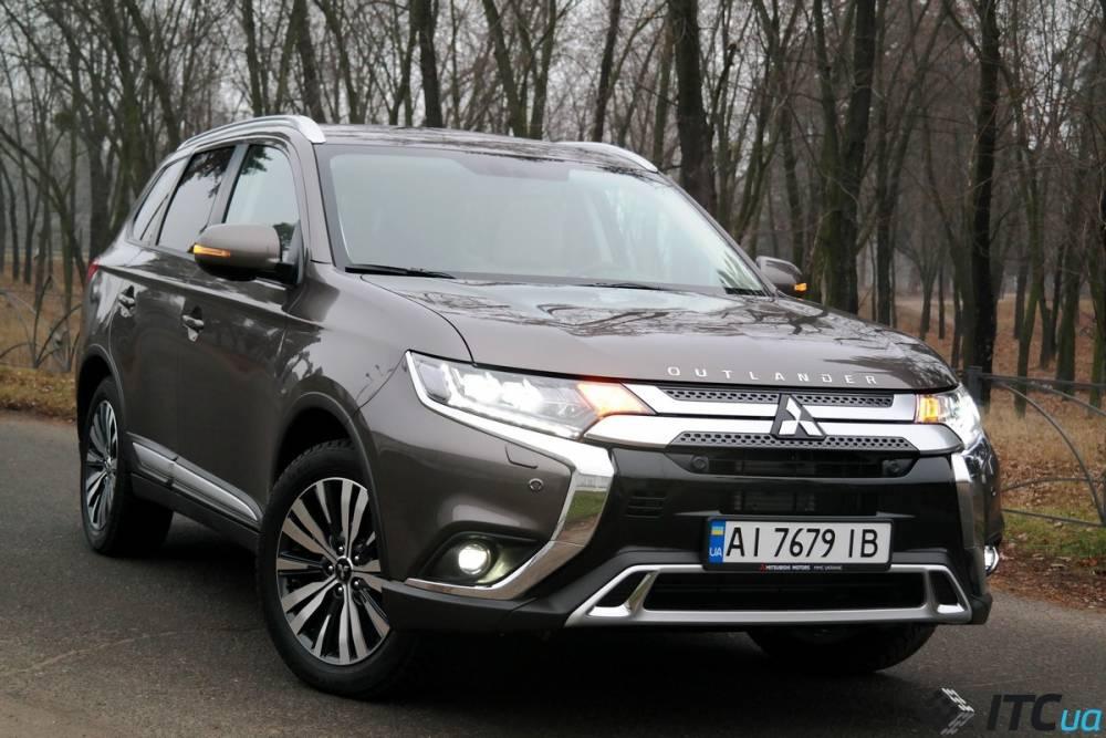Киевское управление Госпродпотребслужбы потратило 3 млн гривен на Mitsubishi Outlander