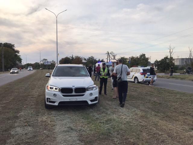 В Бердянске пьяный депутат сбил пешехода