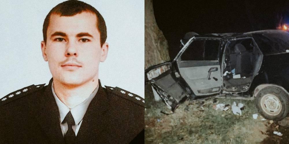 В Киевской области в аварии погиб участковый
