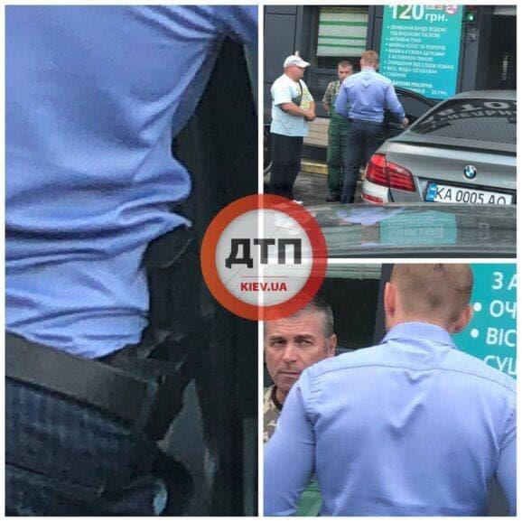 В Киеве помощник нардепа от «Слуги народа» угрожал оружием сотрудникам мойки