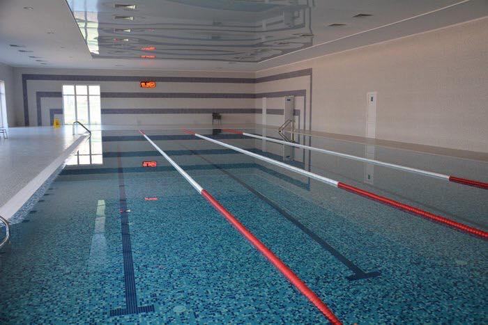 Новый бассейн в санатории СБУ «Одесса» построили с серьезными нарушениями
